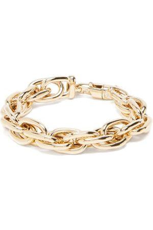 Lauren Rubinski Rope-chain 14kt Gold Bracelet - Womens - Yellow Gold