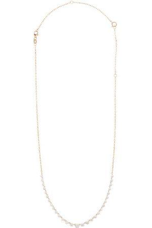 Jade Trau Dames Kettingen - Penelope Large Diamond & 18kt Gold Necklace - Womens - Yellow Gold