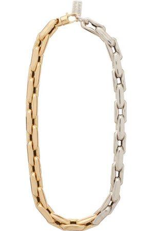 Lauren Rubinski Dames Kettingen - 14kt Gold Chain-link Necklace - Womens - Silver Gold