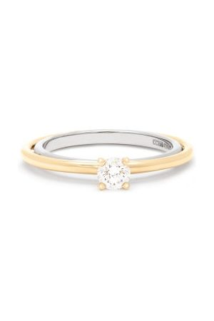 CHARLOTTE CHESNAIS Dames Ringen - Elipse Solitaire Diamond & 18kt Gold Ring - Womens - Gold
