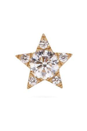 Maria Tash Dames Oorbellen - Star 18kt Gold & Diamond Single Earring - Womens - White Gold