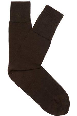 Falke Tiago Cotton-blend Socks - Mens - Brown