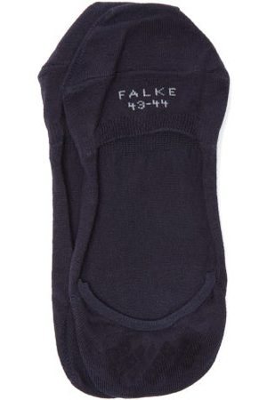 Falke Cool 24/7 Technical Cotton-blend Trainer Socks - Mens - Navy