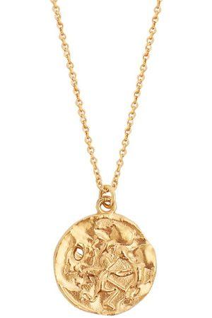 Alighieri Dames Kettingen - Sagittarius Gold-plated Necklace - Womens - Gold