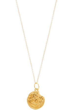 Alighieri Pisces Gold-plated Necklace - Womens - Gold