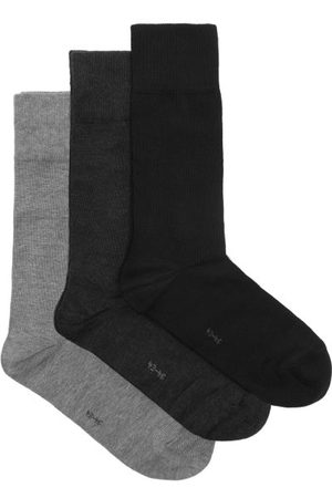 Falke Heren Sokken & Kousen - Pack Of Three Happy Cotton-blend Socks - Mens - Multi