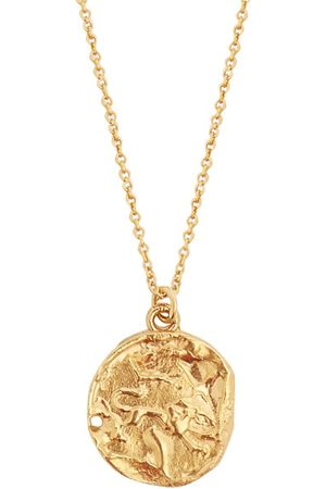 Alighieri Leo Gold-plated Necklace - Womens - Gold