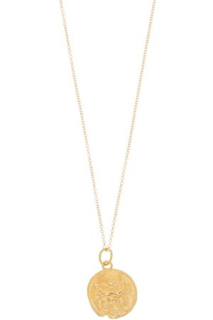 Alighieri Aries Gold-plated Necklace - Womens - Gold