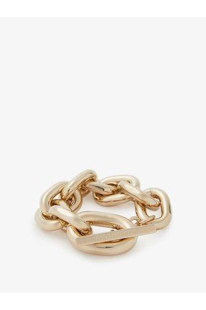 Paco rabanne Oversized Chain-link Bracelet - Womens - Gold