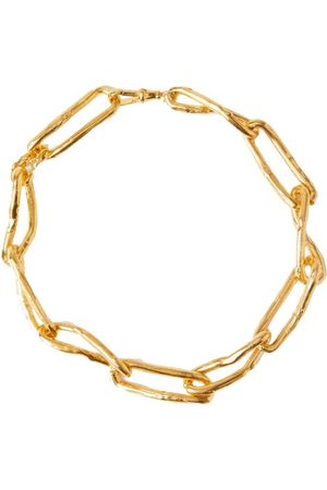 Alighieri The Waste Land 24kt Gold-plated Choker Necklace - Womens - Gold