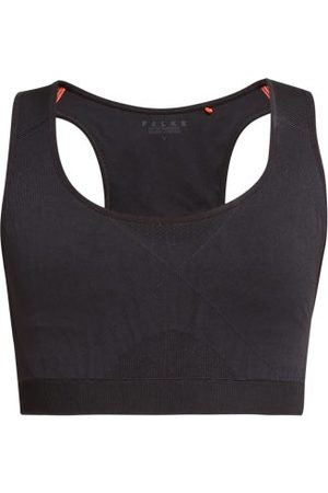 Falke Dames Sport bh's - Madison Low-impact Sports Bra - Womens - Black