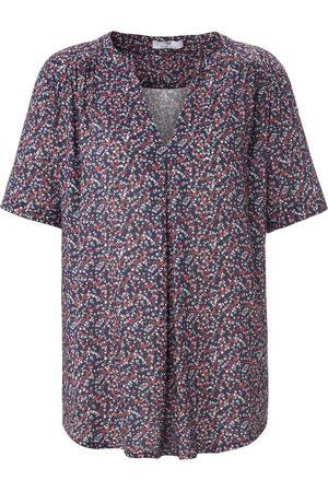 Peter Hahn Shirt met korte mouwen en millefleursprint Van