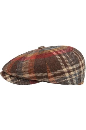 Lierys Heren Petten - Carlsen Wool Check Pet by
