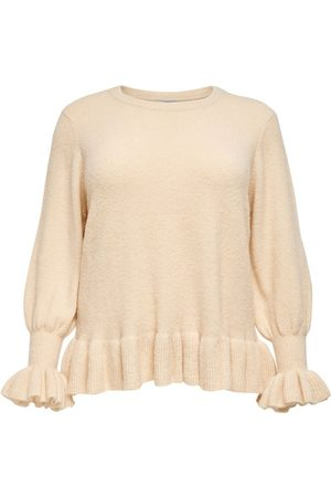 Only Curvy Texture Knitted Pullover Dames