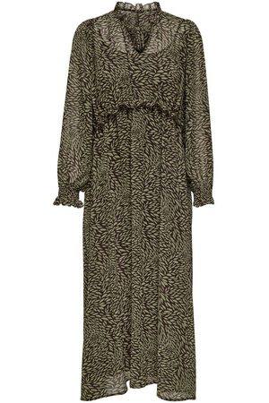 Only Dames Lange jurken - Puff Sleeve Maxi Dress Dames