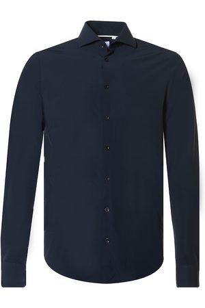 Blue Industry Casual Heren Overhemd LM