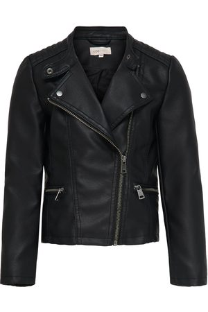 Only Konfreya Emb. Faux Leather Biker Ot: