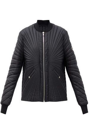 Moncler + Rick Owens Radiance Logo-patch Quilted Down Shell Jacket - Womens - Black