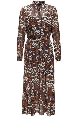 Only Allover Print Midi Dress Dames