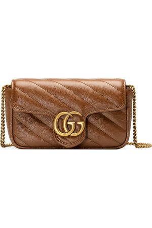 Gucci Dames Handtassen - GG Marmont matelassé super mini bag