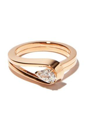 Repossi Serti Sur Vide Diamond & 18kt Rose-gold Ring - Womens - Rose Gold