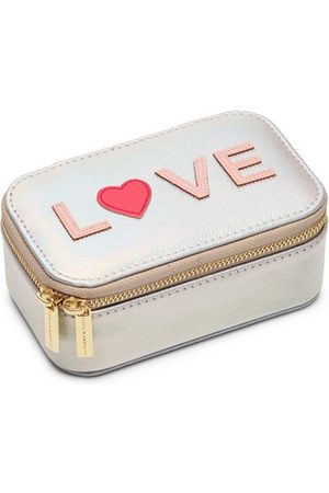 ESTELLA BARTLETT Make-up tasjes Mini Jewellery Box Zilverkleurig