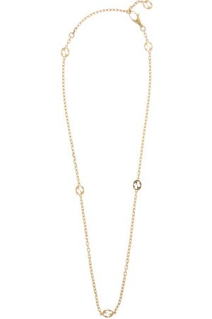 Gucci GG-logo 18kt Gold Chain Necklace - Womens - Yellow Gold