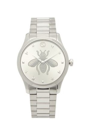 Gucci G-timeless Stainless-steel Watch - Womens - Silver