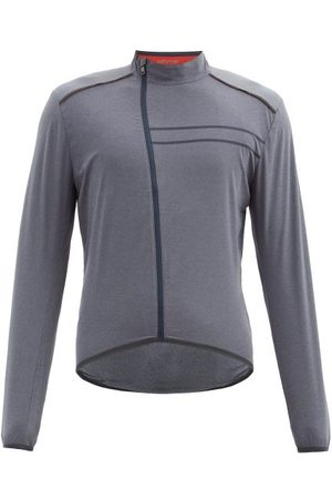 Ashmei Reflective-trim Soft-shell Cycling Jacket - Mens - Navy