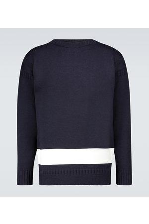 COMME DES GARÇONS HOMME Guernsey British wool sweater