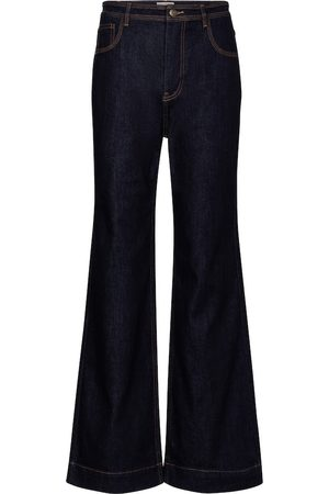 ULLA JOHNSON Dames High waisted - Theo high-rise wide-leg jeans