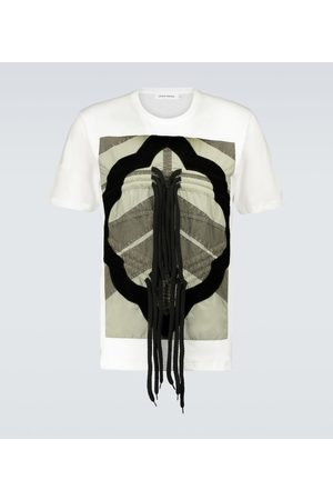 CRAIG GREEN Flower Diamond cotton T-shirt