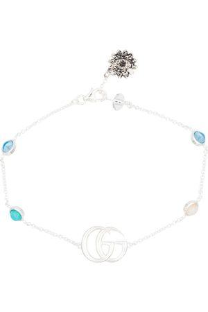 Gucci GG Marmont Flower sterling bracelet