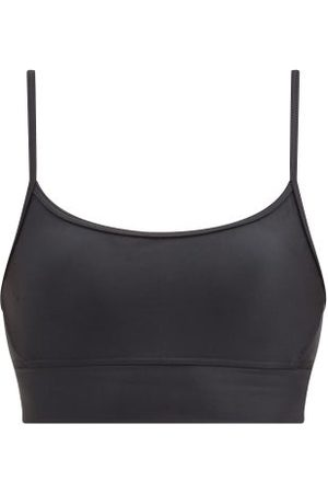 The Upside Original Super Soft Low-impact Sports Bra - Womens - Black