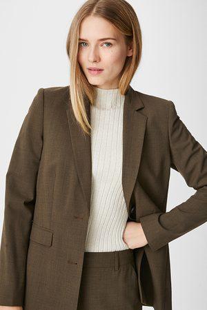 C&A Dames Blazers & Colberts - Businessblazer-gemengde wol