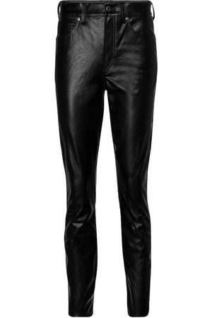 VERONICA BEARD Debbie faux leather skinny pants