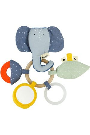 Trixie Kinderen Ringen - Baby Accessoires Activity Ring - Mrs. Elephant