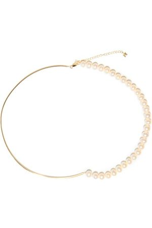 Mateo Not Your Mother's Pearl & 14kt Gold Necklace - Womens - Pearl