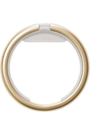 Orbitkey Sleutelhangers Ring Yellow Gold Colored Goudkleurig