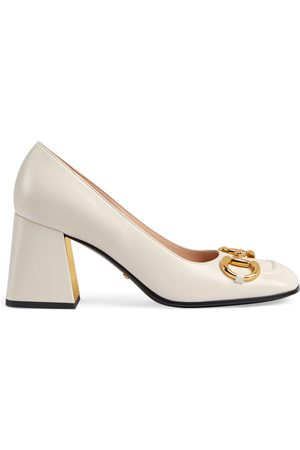 Gucci Dames Pumps - Women's mid-heel pump with Horsebit