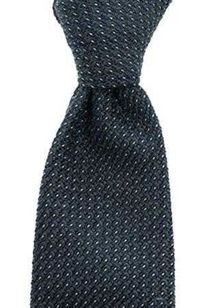 SOC13TY Heren Stropdassen - SOCI3TY Stropdas Heren Donkergroen Wool And Silk