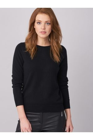 REPEAT Easy Knit Dames Truien - Cashmere trui met boothals
