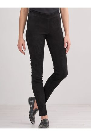 REPEAT Dames Leggings & Treggings - Legging van suède