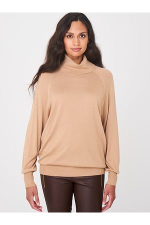 Repeat Casual coltrui superfijn gebreid van bamboe-cashmere mix