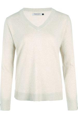 Steppin' Out Dames Cotton cashmere V-hals