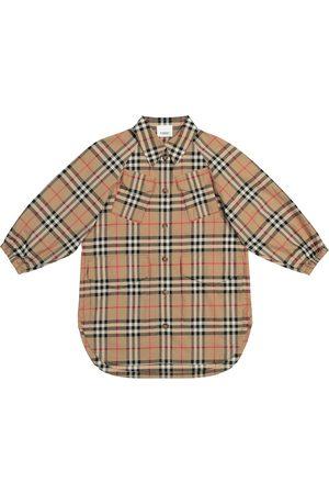 Burberry Archive Check cotton shirt dress