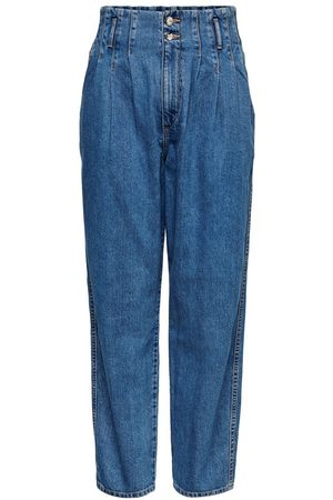 Only Dames Straight - Onlpleat Carrow Hw Straight Fit Jeans Dames