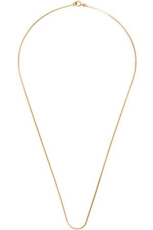 Fernando Jorge Thin 18kt Gold Snake-chain Necklace - Mens - Yellow Gold