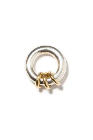 SPINELLI KILCOLLIN Nebula Sterling-silver & 18kt Gold Pendant - Mens - Silver Gold