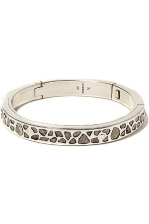 PARTS OF FOUR Heren Armbanden - Sistema Diamond & Sterling-silver Bracelet - Mens - Silver